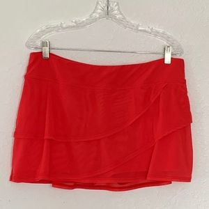 Coco Reef Mesh Layer Swim Skort  Size XL